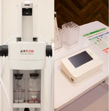 エムズ歯科プラスのこだわり 最先端の医療機器を新たに導入